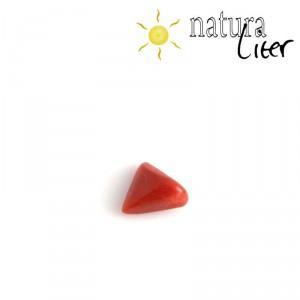 Přírodní červený korál - kabošonek