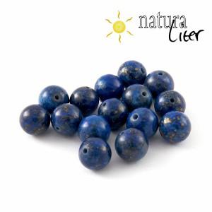 Lapis lazuli korálek, 8 mm, 2ks