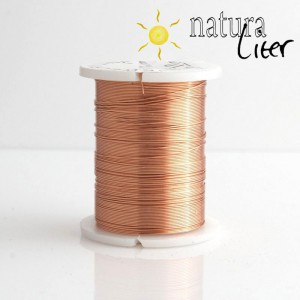 Mosazný drát 0,3mm, světle měděná barva, 10m