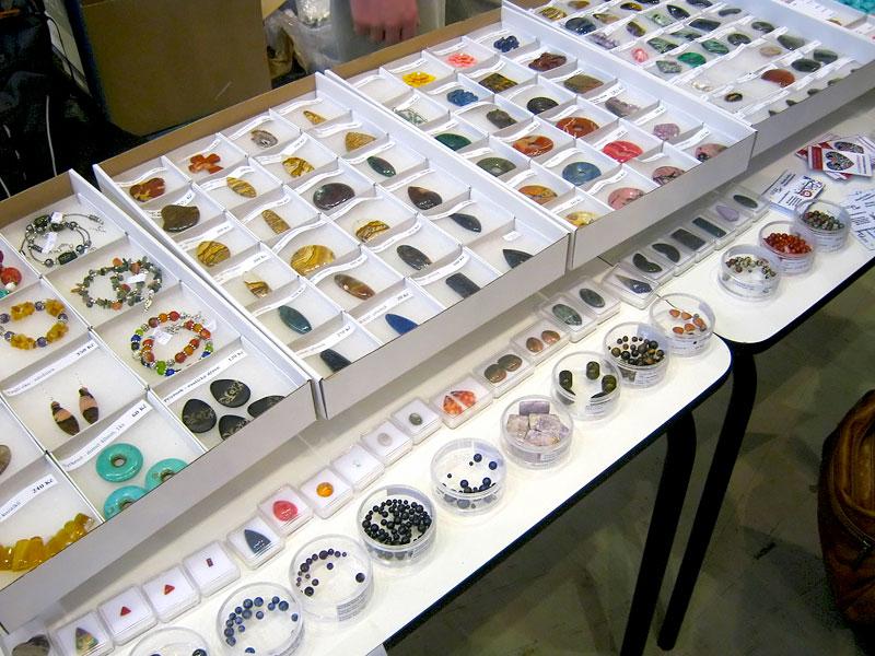 Naše zboží na Minerálech Brno 2011