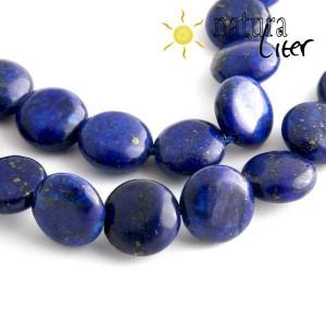 Lapis lazuli - disk, 12 mm