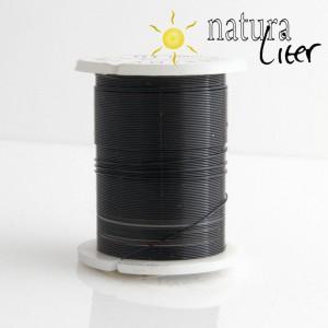 Mosazný drát 0,3mm, černá barva, 10m