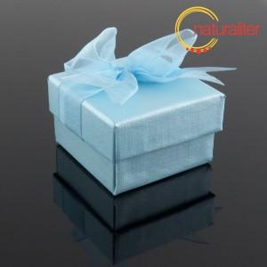 Dárková krabička 48x48x30mm, světle modrá