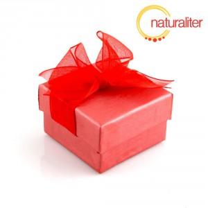 Výprodej - Dárková krabička 48x48x30mm, červená