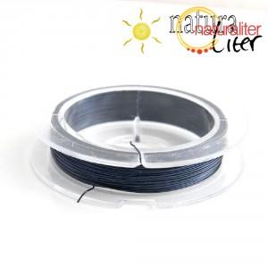 Lakovaný měděný drátek 0,3mm tmavě modrý - 10m