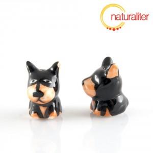 Porcelánový korálek - pes