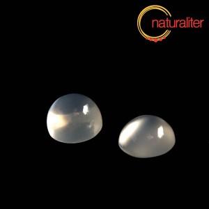 Měsíční kámen, adulár - kabošon 8mm