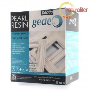 Perleťová pryskyřice Gédeo bílá 150ml