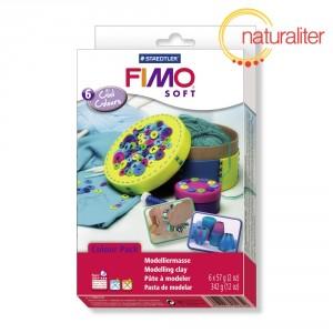 Výprodej - Sada FIMO Soft - Studené odstíny 6x57g