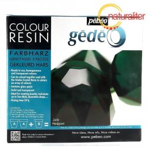 Křišťálová pryskyřice Gédeo barevná - zelená 150ml