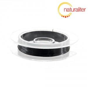 Lakovaný měděný drátek 0,3mm černý - 10m