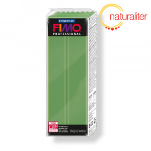 Výprodej - FIMO Professional 57 - zelená listová, velké balení 350g
