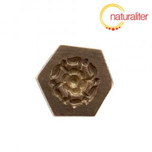 Výprodej - Mosazná forma, květina 13mm