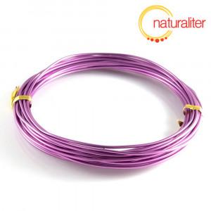 Hliníkový drát fialový, 1,5mm x 6m