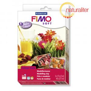 Výprodej - Sada FIMO Soft - Teplé odstíny 6x57g