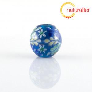 Výprodej - Vinutá perla s květinovým vzorem