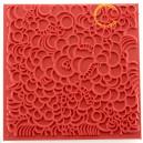 Polymerová textura Cernit 9x9cm bubliny