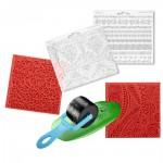 Textury a razítka pro modelovací hmoty