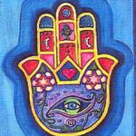 Hamsa - ruka Fatimy