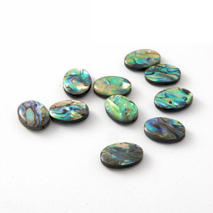 Perleťové korálky z perleti paua (abalone)