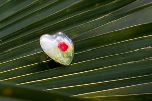 Prsten s pryskyřicí Glass'Gel