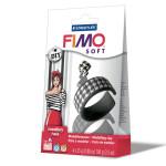 Černobílá šperková sada FIMO